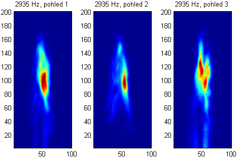 Distribution of the significant oscillations in plasma