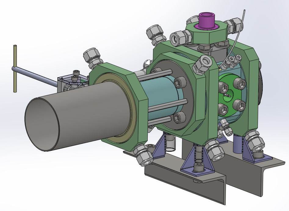 3D design of the expansion chamber