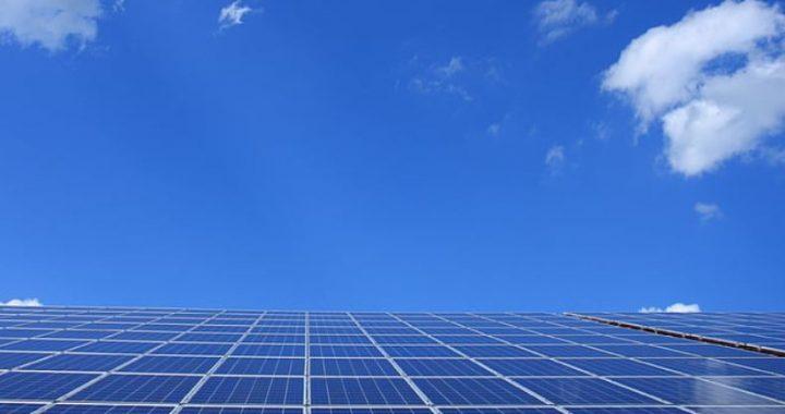 fotovoltaika - ilustrace