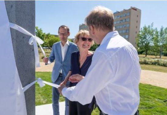 Odhalení pomníku V. Dolejška